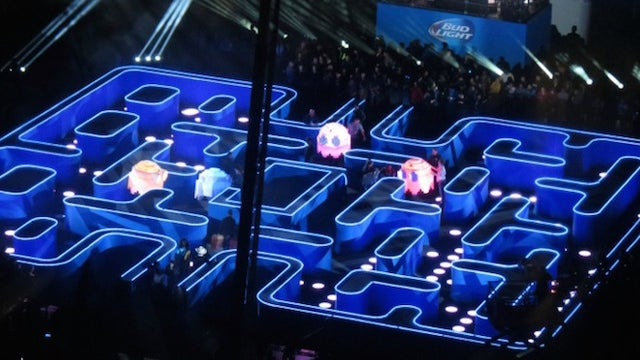 Life-Size Pac-Man Maze Unhinges Jaw, Consumes LA