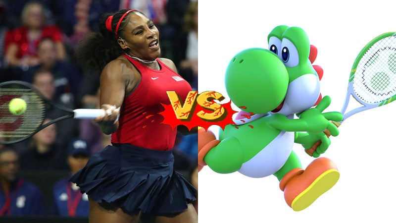 Serena & Venus Williams Are Playing In A Mario Tennis Tournament