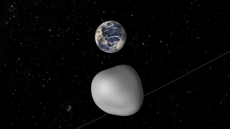 A Close Encounter With Asteroid Will Test Earth's Early Warning System