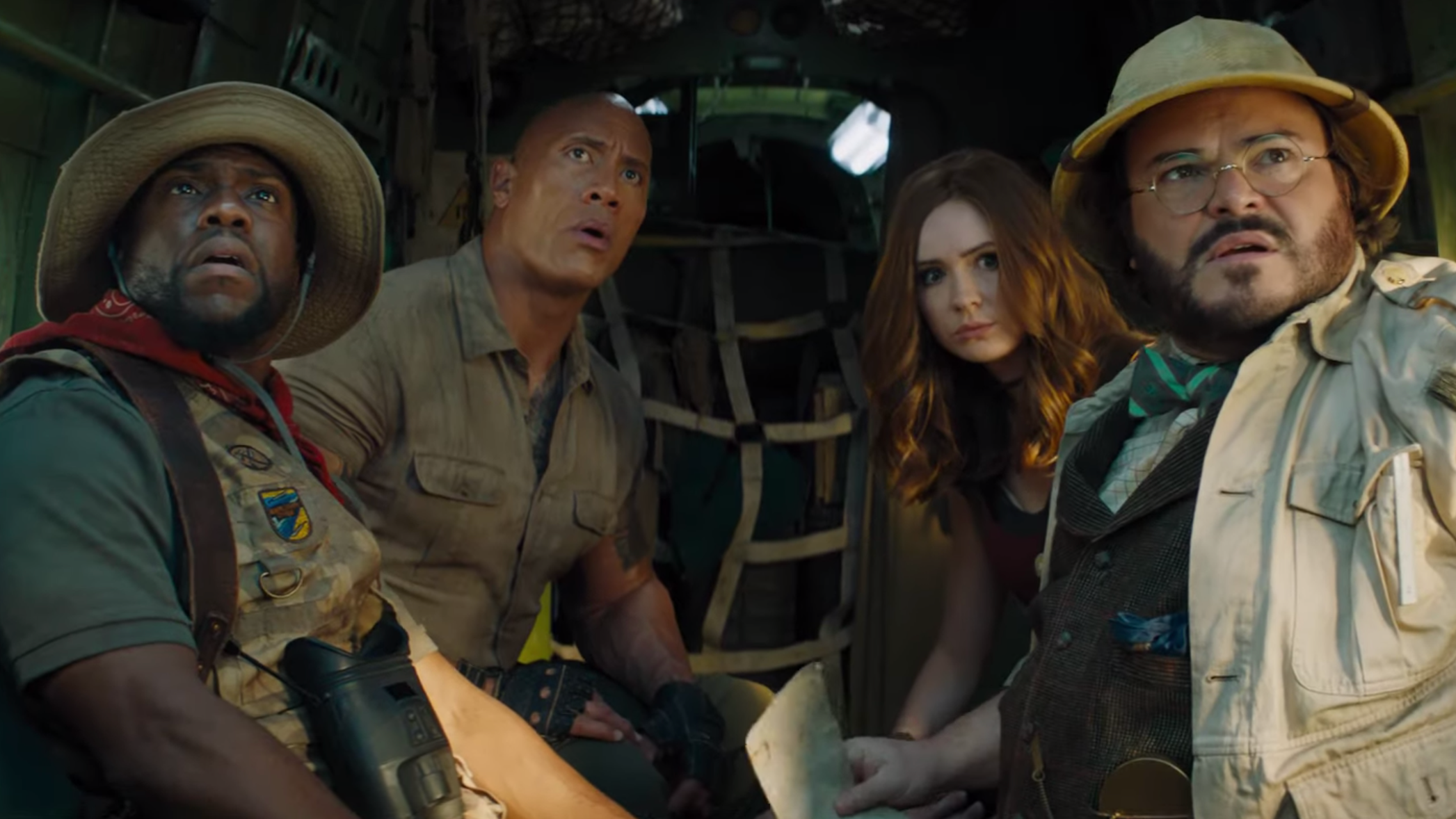 Danny DeVito And Danny Glover Dive Into The Hilarious First Trailer For Jumanji: The Next Level