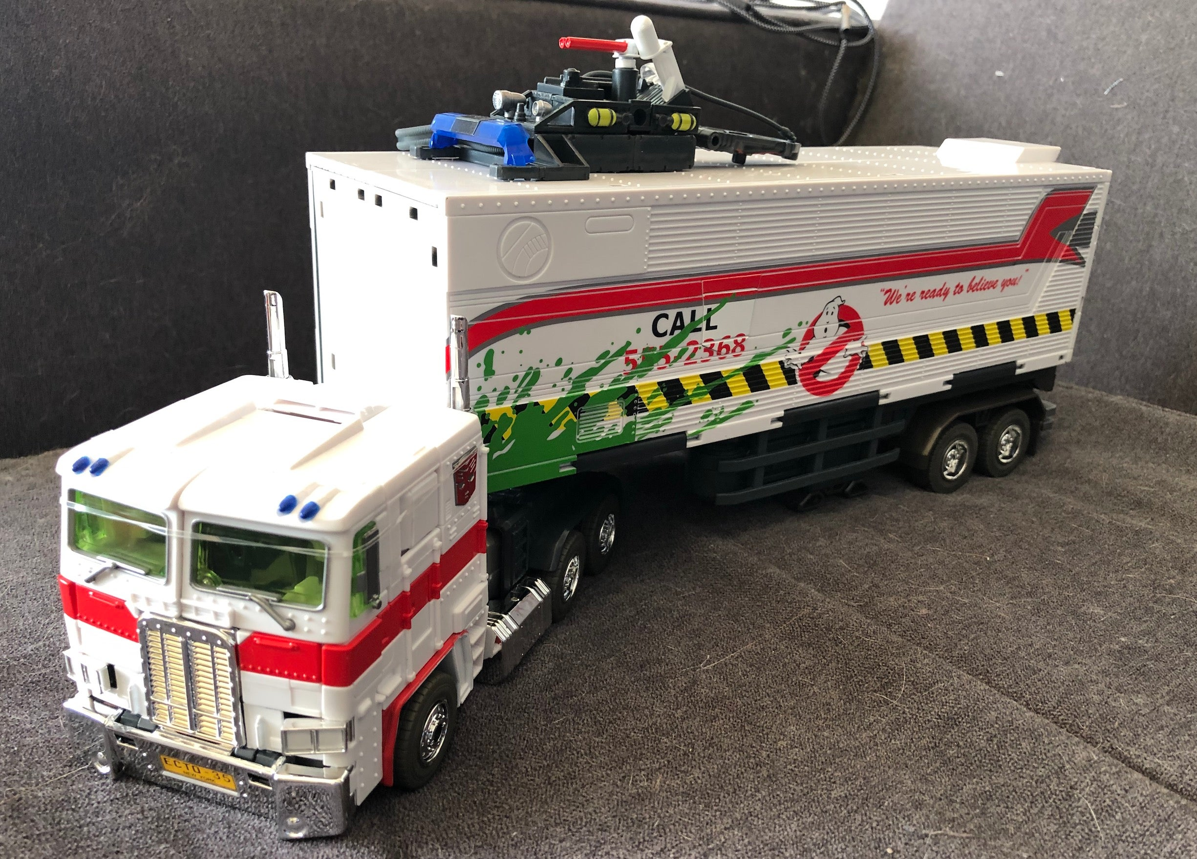This Optimus Prime Ghostbusters Toy Is Too Much Fun