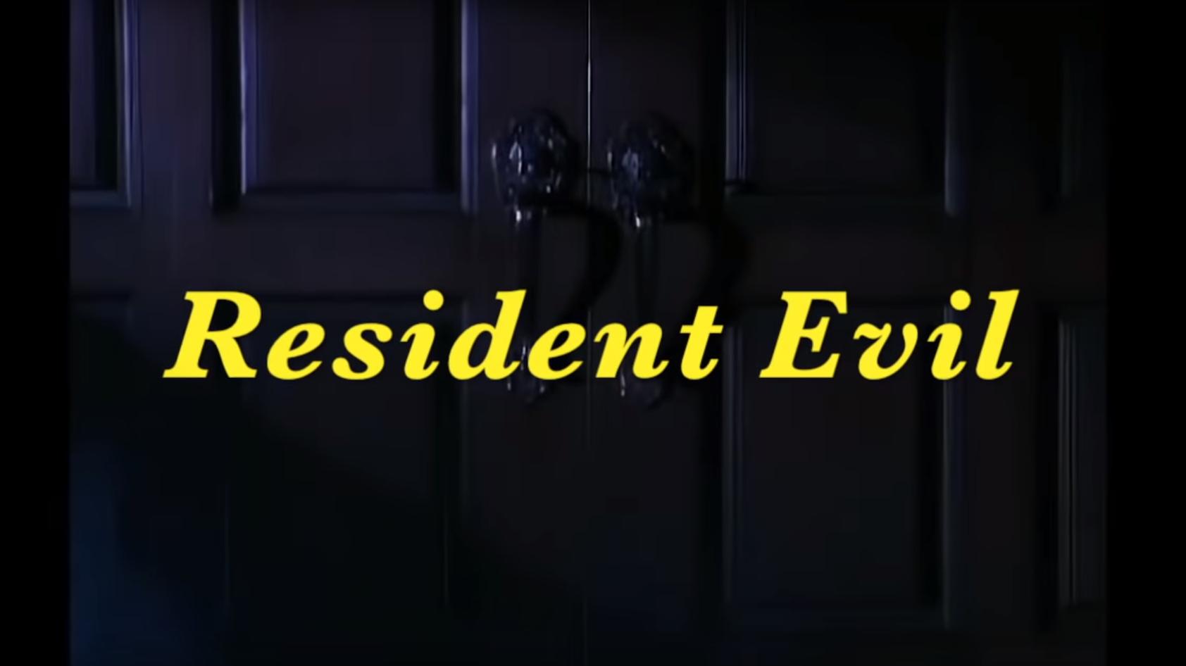 Original Resident Evil Intro Turned Into An 80s Sitcom