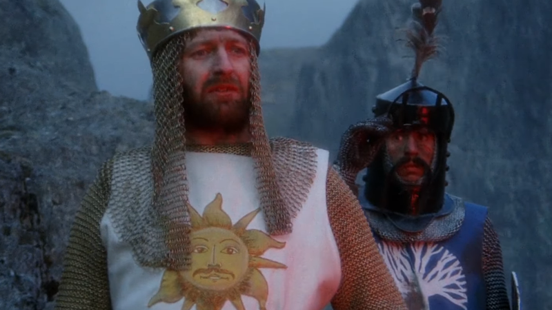 This Fan Trailer Turns Monty Python And The Holy GrailInto A Serious Medieval Drama