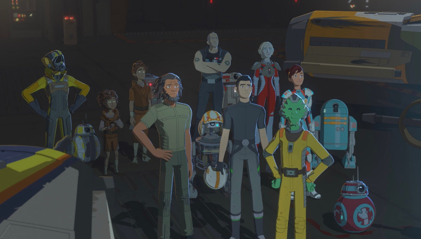 The Star Wars Resistance Season 2 Premiere Takes Place Almost Entirely In Zero Gravity