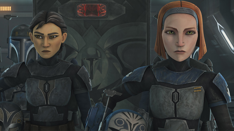 Report: Katee Sackhoff Is Reprising Her Clone Wars Role On The Mandalorian
