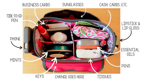 Switch Purses Effortlessly With a Craft Caddy