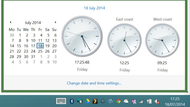 Use Windows' Additional Clocks to Monitor Multiple Time Zones