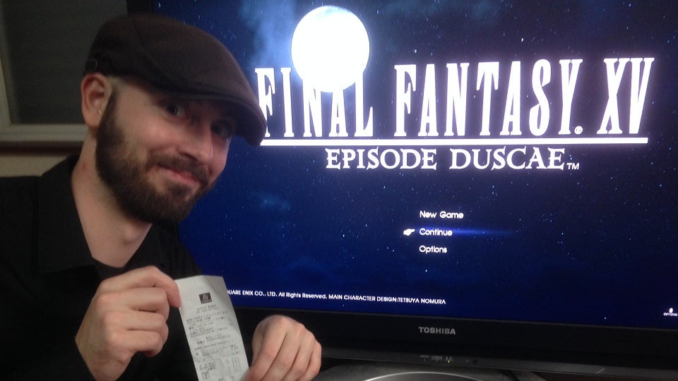 I Bought the Final Fantasy XV Demo for $US18