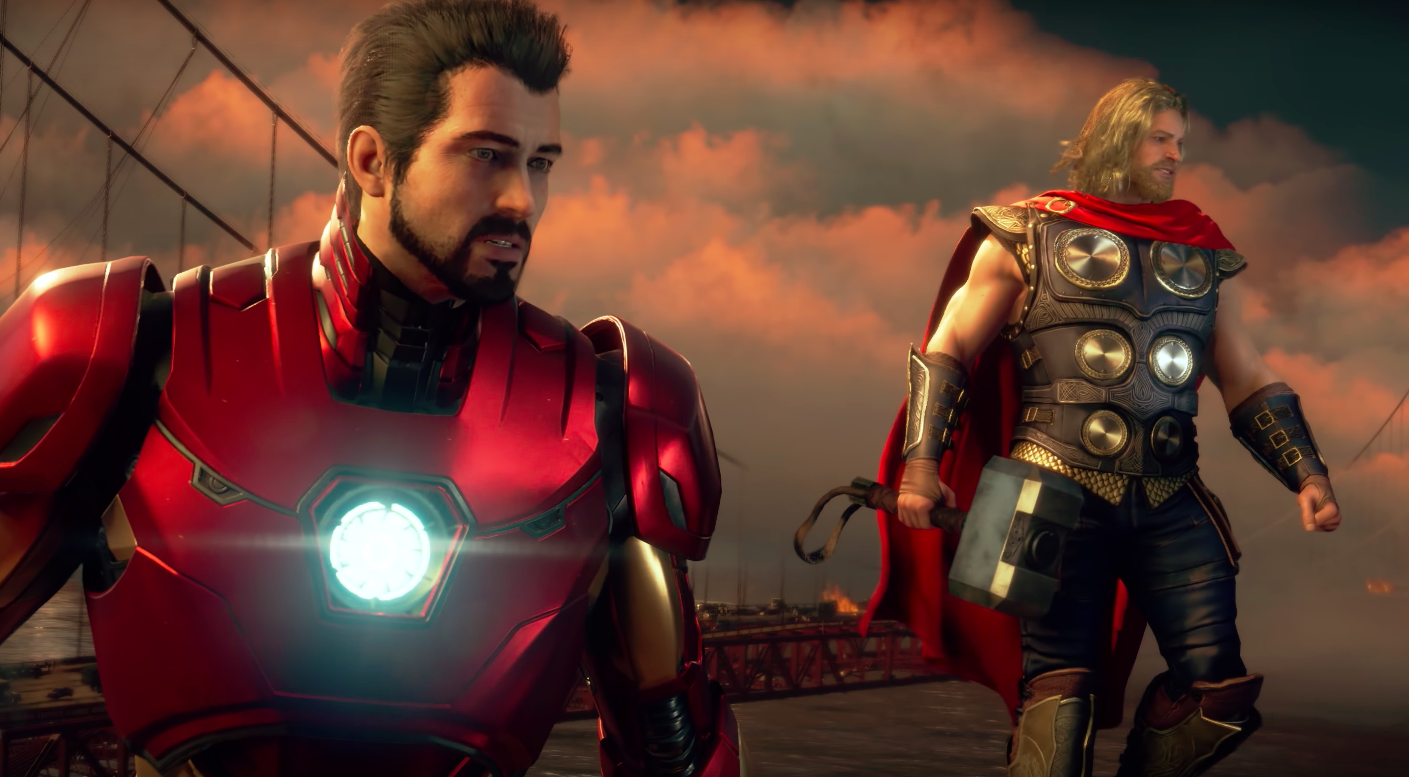 Something Feels Off About The Avengers Gameplay Demo