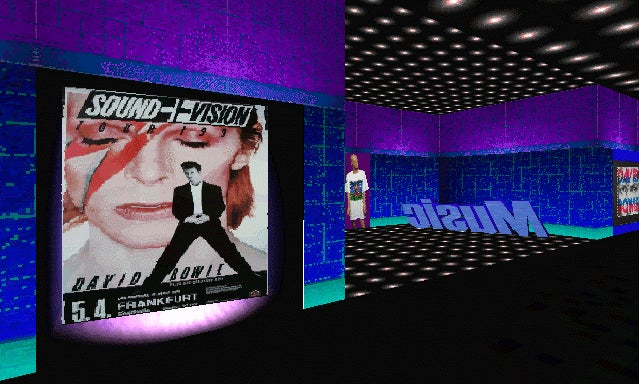 Exploring David Bowie's Bizarre Virtual World From The 90s