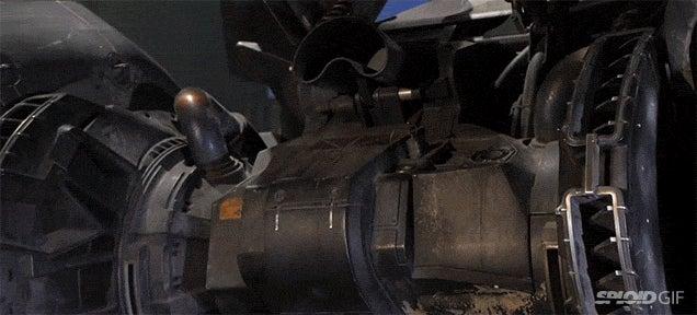 A closer look at the new Batmobile in Batman vs Superman