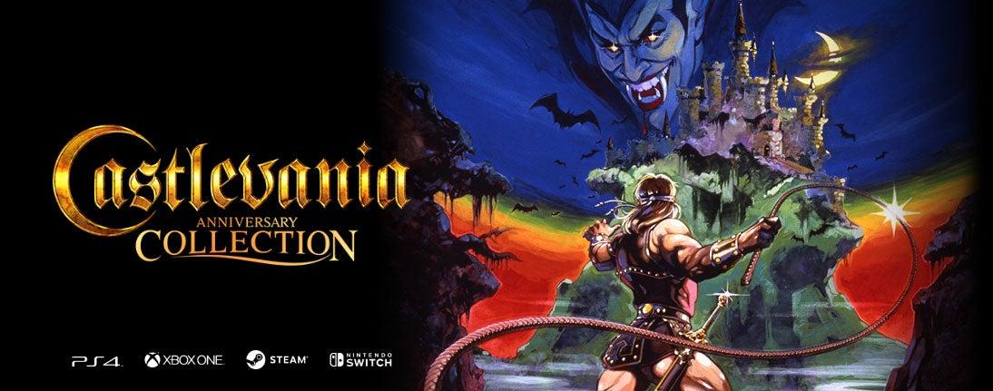 Konami's NewAnniversary CollectionsBundleCastlevania, Contra And More