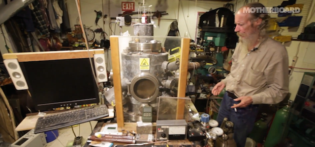 This chain smoking, gun loving guy built a nuclear reactor in his home