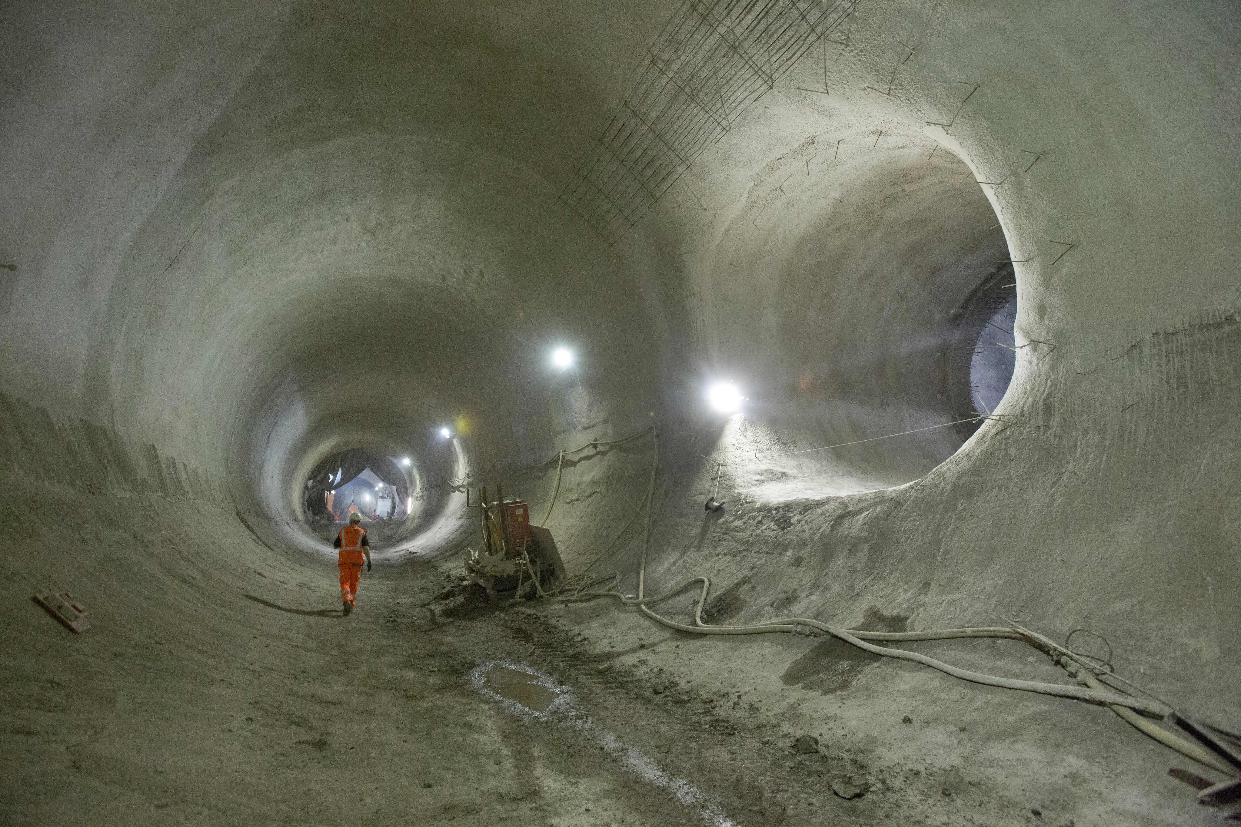 Inside the Vast Tunnels of Europe's Biggest Infrastructure Project