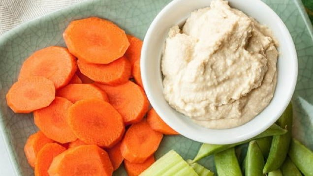 Cut Carrots into Round Chips Instead of Sticks for Better Dipping