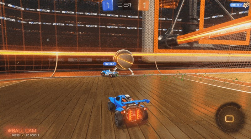 Rocket League's New Basketball-Themed Mode Is Goofy Fun