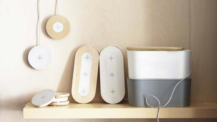 IKEA Just Made It Crazy Easy To Add Wireless Charging To Your Furniture