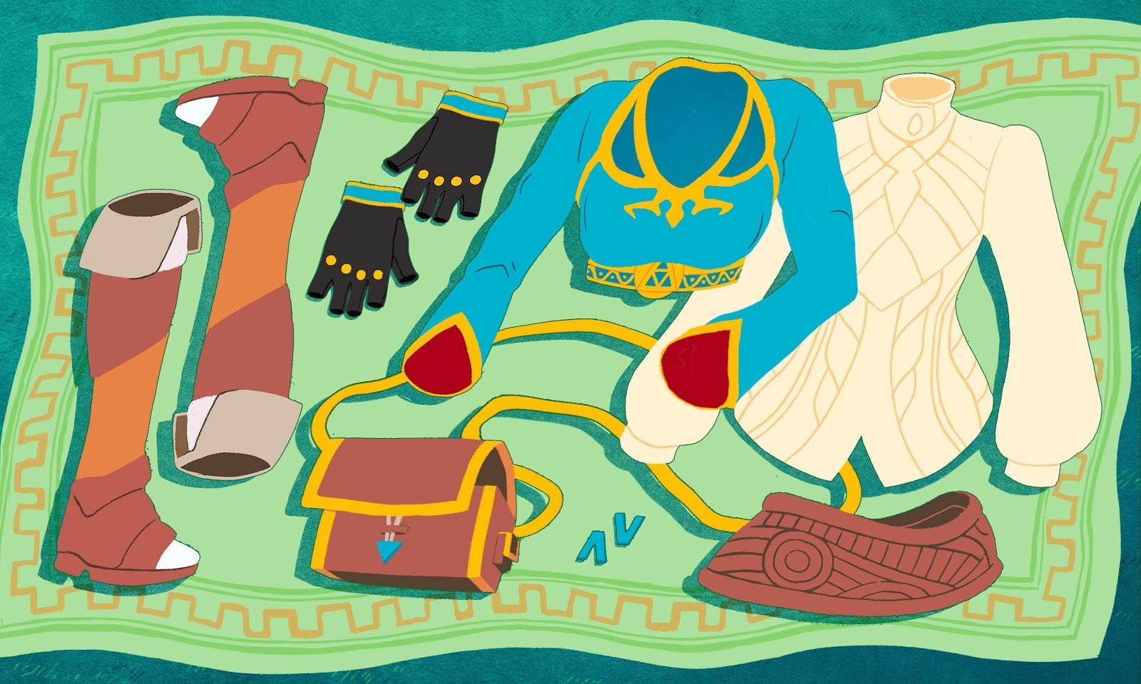 Princess Zelda's Breath Of The Wild Outfit Helps Tell Her Story
