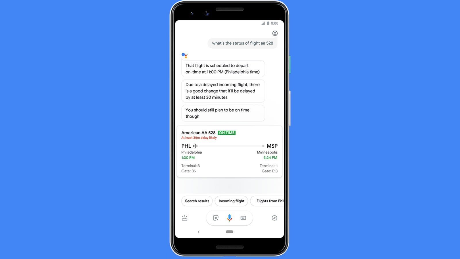 Google's Feature For Predicting Flight Delays Actually Sounds Useful Now