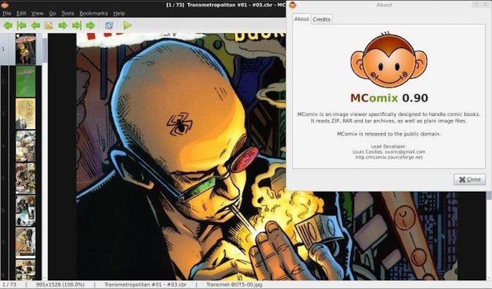 Five Best Desktop Comic Book Readers