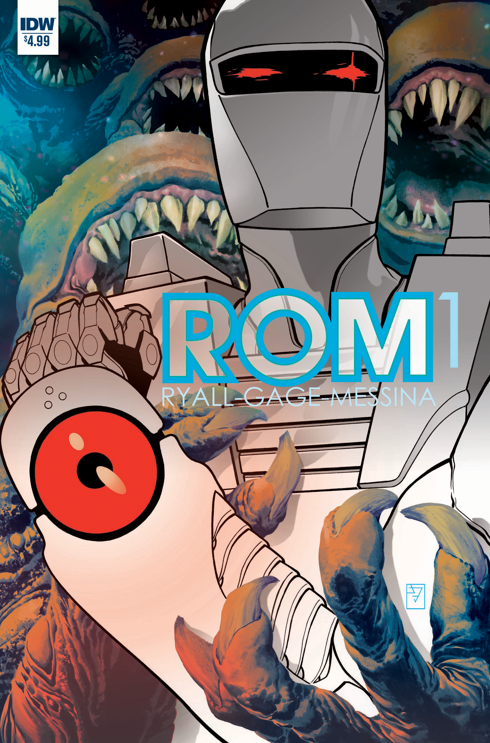 The First Details on Rom's Triumphant Return to Comics