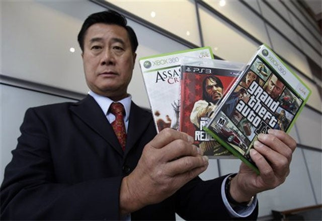 Anti-Games Senator Accused Of Being A Grand Theft Auto Character
