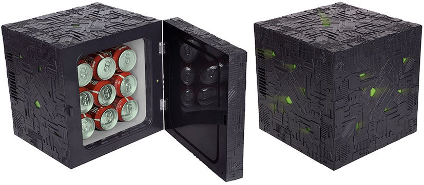 Borg Cube Mini-Fridge: Freezistance Is Futile