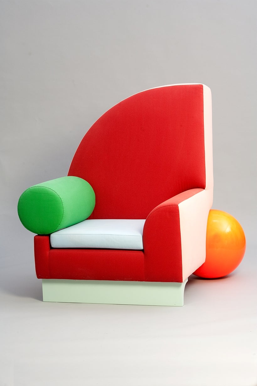 Why a once hated 1980s design movement is making a for 1980s chair