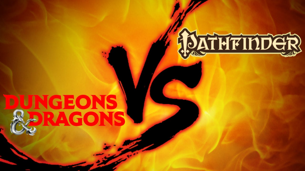 Tabletop RPG Showdown: Dungeons & Dragons 5E vs. Pathfinder