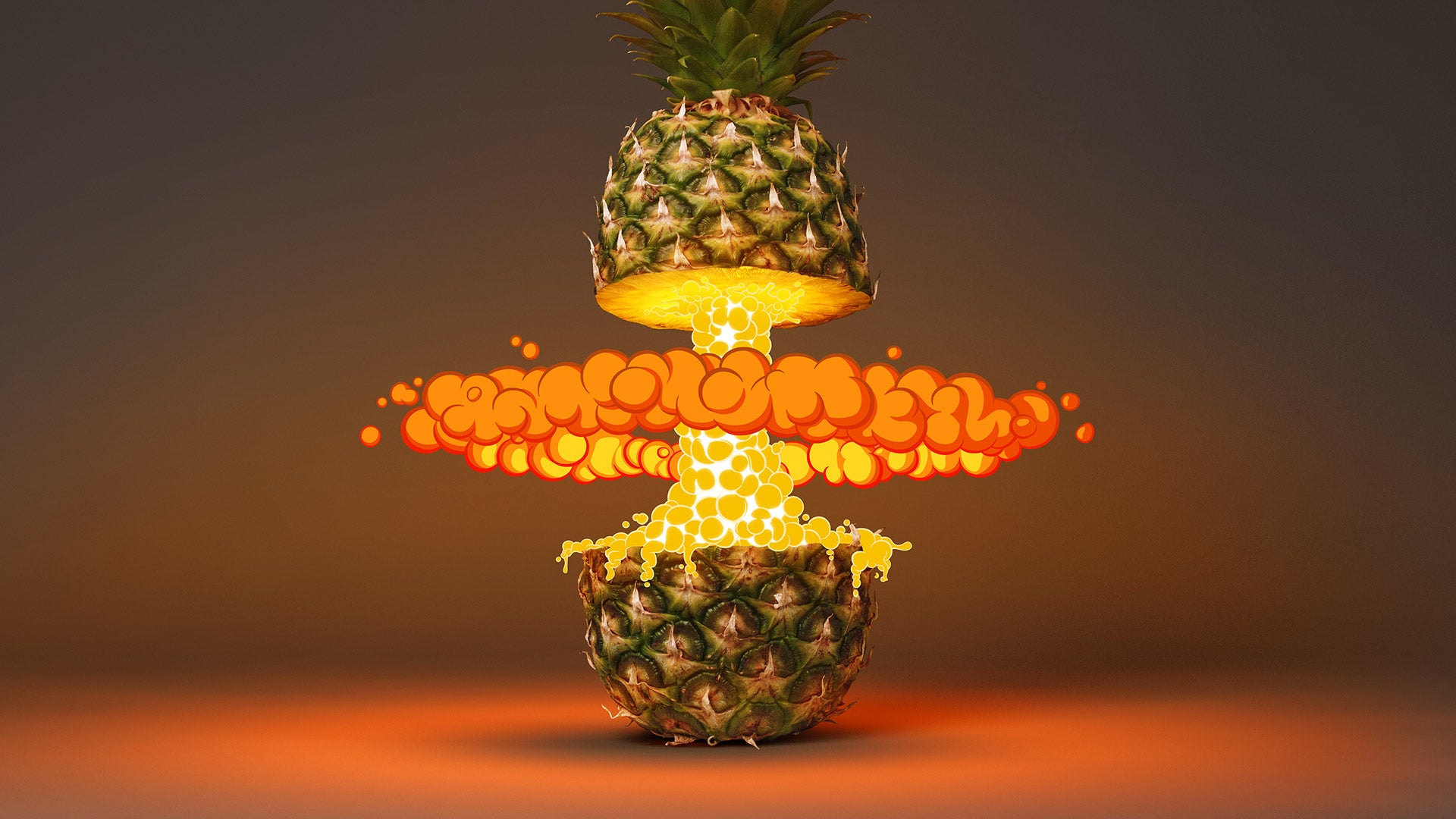 Deliciously explosive tropical fruits