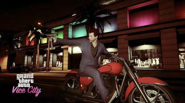 Player Photographs Recreate GTA Vice City in GTA V