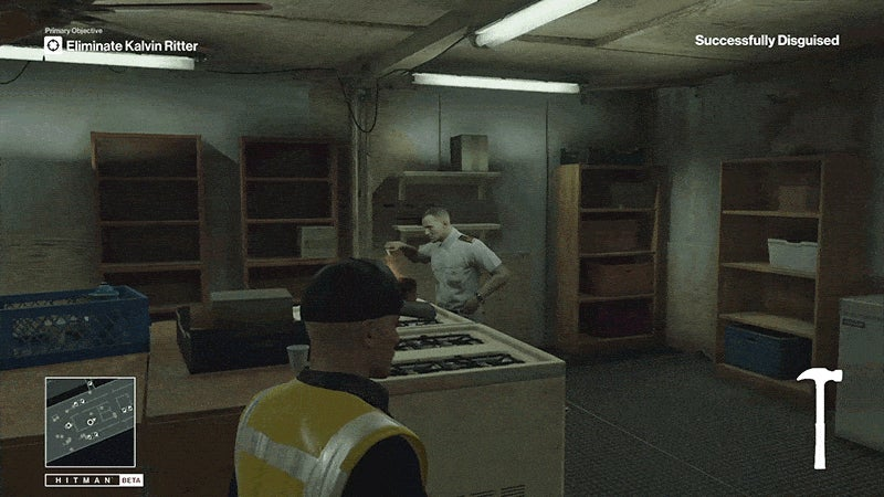 Sorry, Hitman Cook