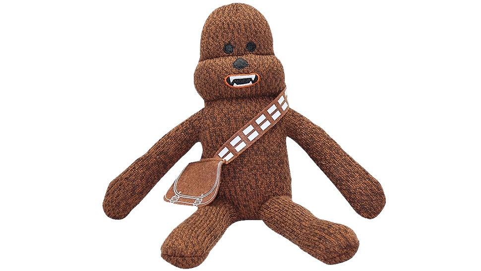 A Sock Monkey Wookiee Will Scare Away Bedtime Monsters Across the Galaxy