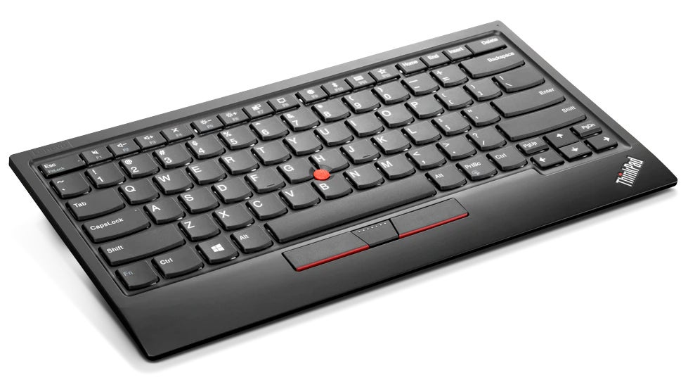 Lenovo's Wireless Keyboard Puts The ThinkPad's Iconic Nub On Your Desk