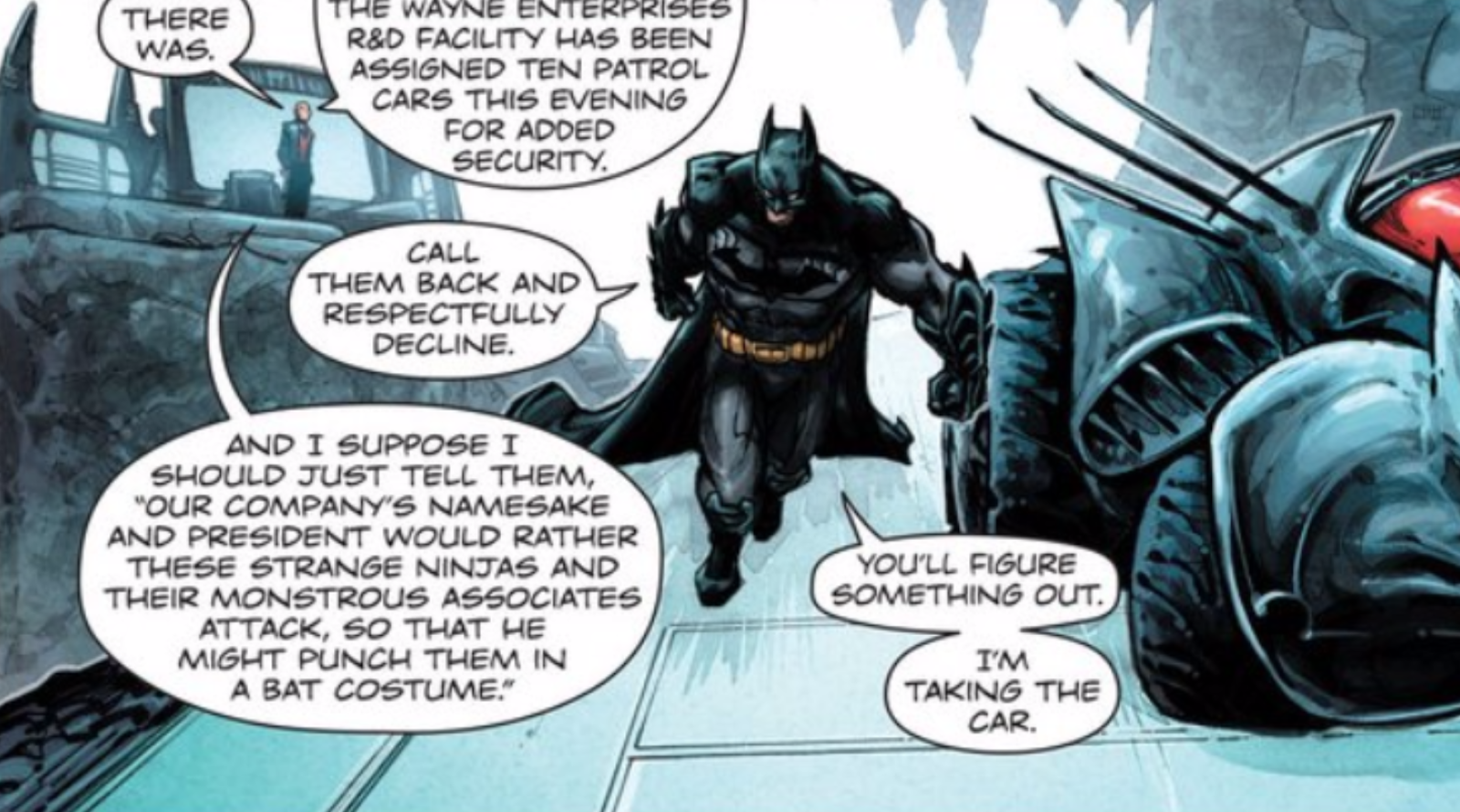 The Batman/Teenage Mutant Ninja Turtles Comic Is Surprisingly Good