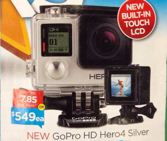 GoPro Hero 4 Rumours: 30 Fps 4K Video Capture and Touch LCD Coming Soon