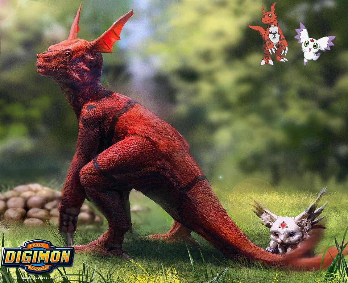 Realistic Digimon are Mildly Disturbing