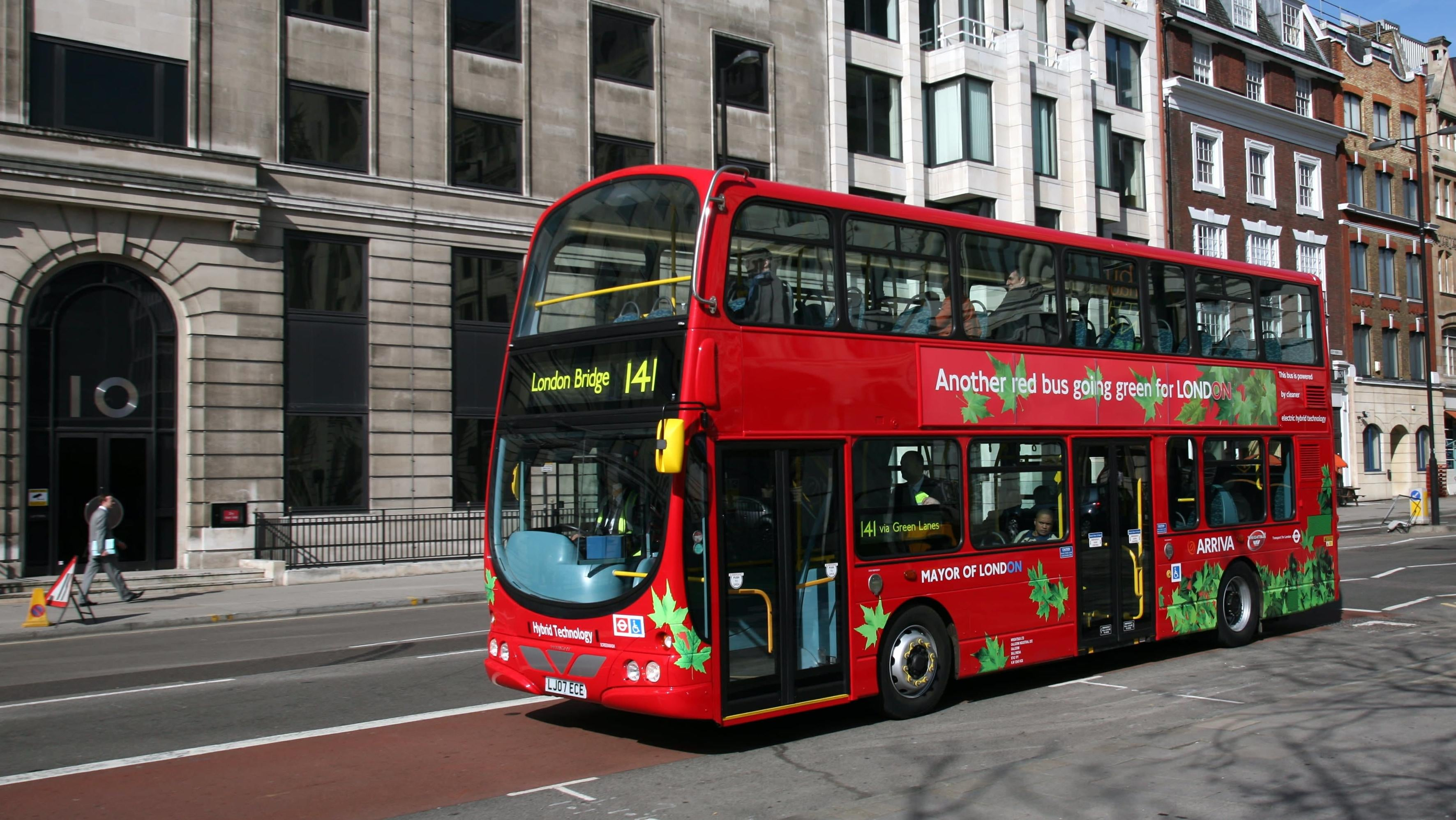 London Considers Bubbling, Beeping, And Other 'Irritating' Sci-Fi Sounds For Electric Bus Fleet
