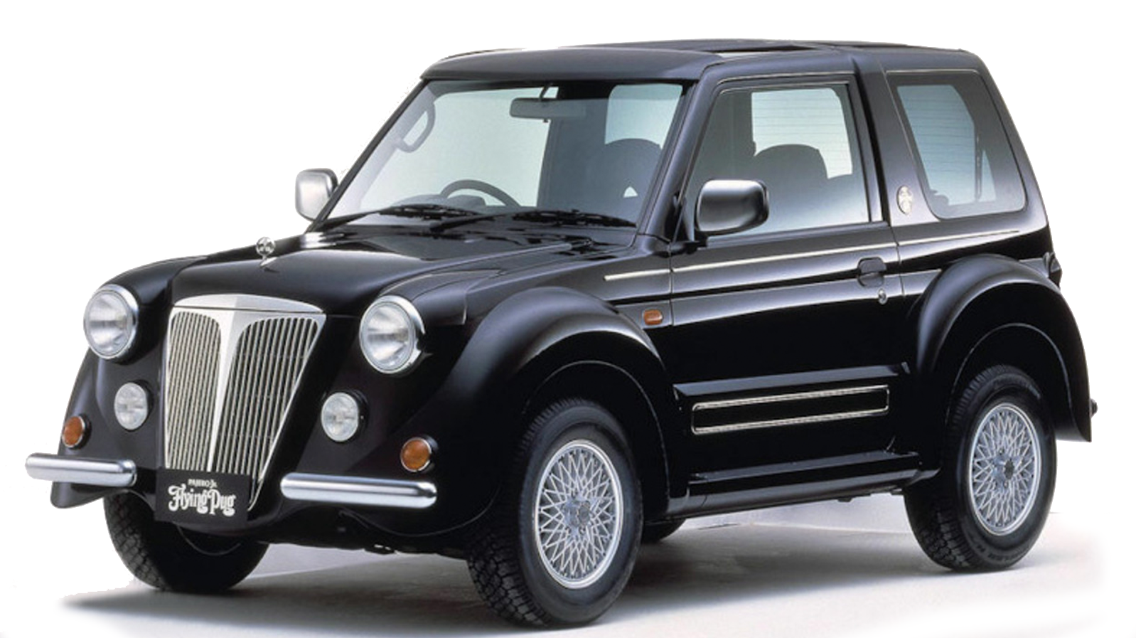 A Wonderfully Ridiculous Car You Should Know About: The Mitsubishi Flying Pug