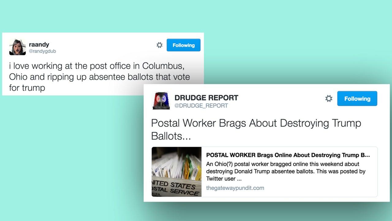 Conservative Pundits Use Dumb Twitter Joke As Proof Of US Voter Fraud