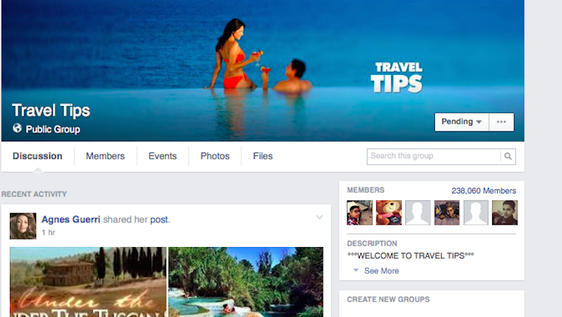 Join Facebook Travel Groups for Insider Tips from the Pros