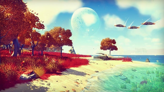 How Big Is No Man's Sky?