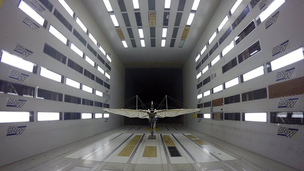 Why Is the First Ever Production Aircraft in a Modern Wind Tunnel?