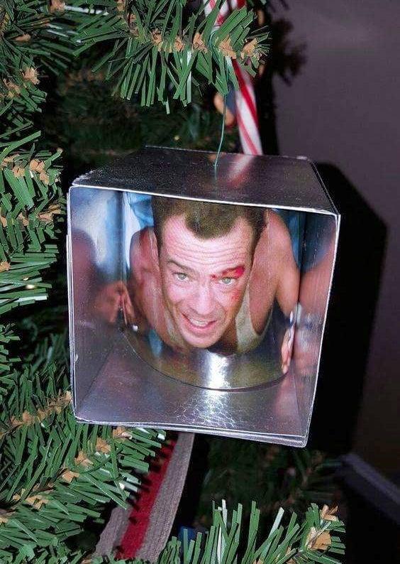 D.i.y. Die Hard Christmas Ornament