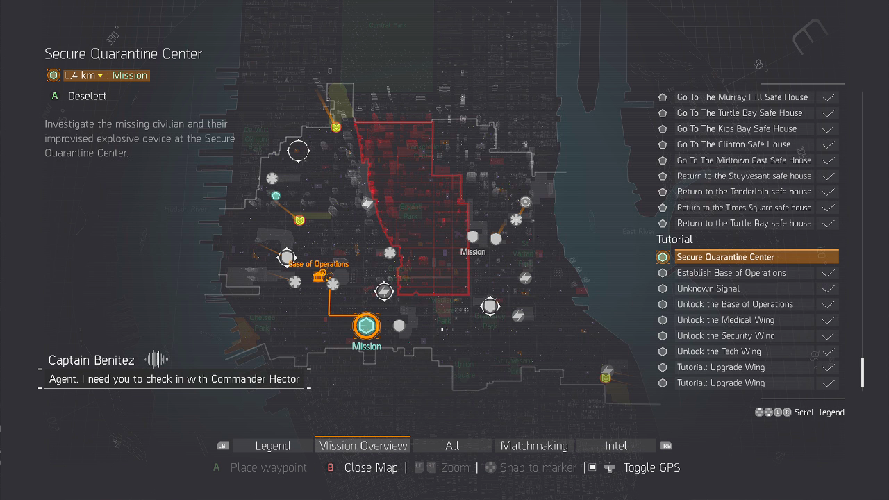 the division survival dlc guide