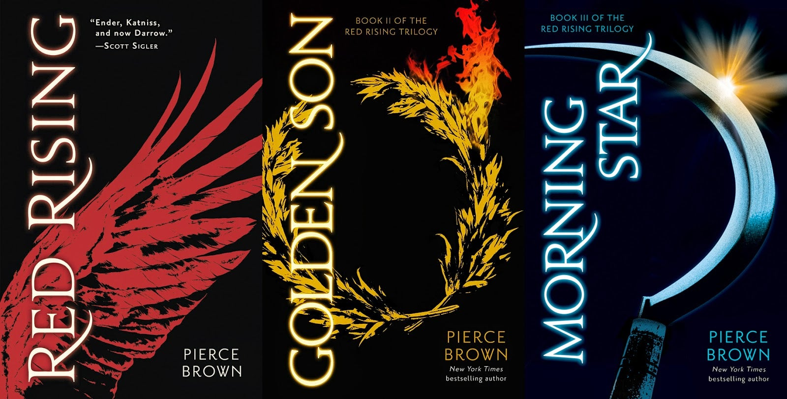 Red Rising Trilogy ou l'avenir de la SF