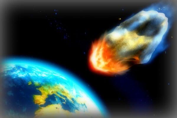 Meteor Hitting Earth
