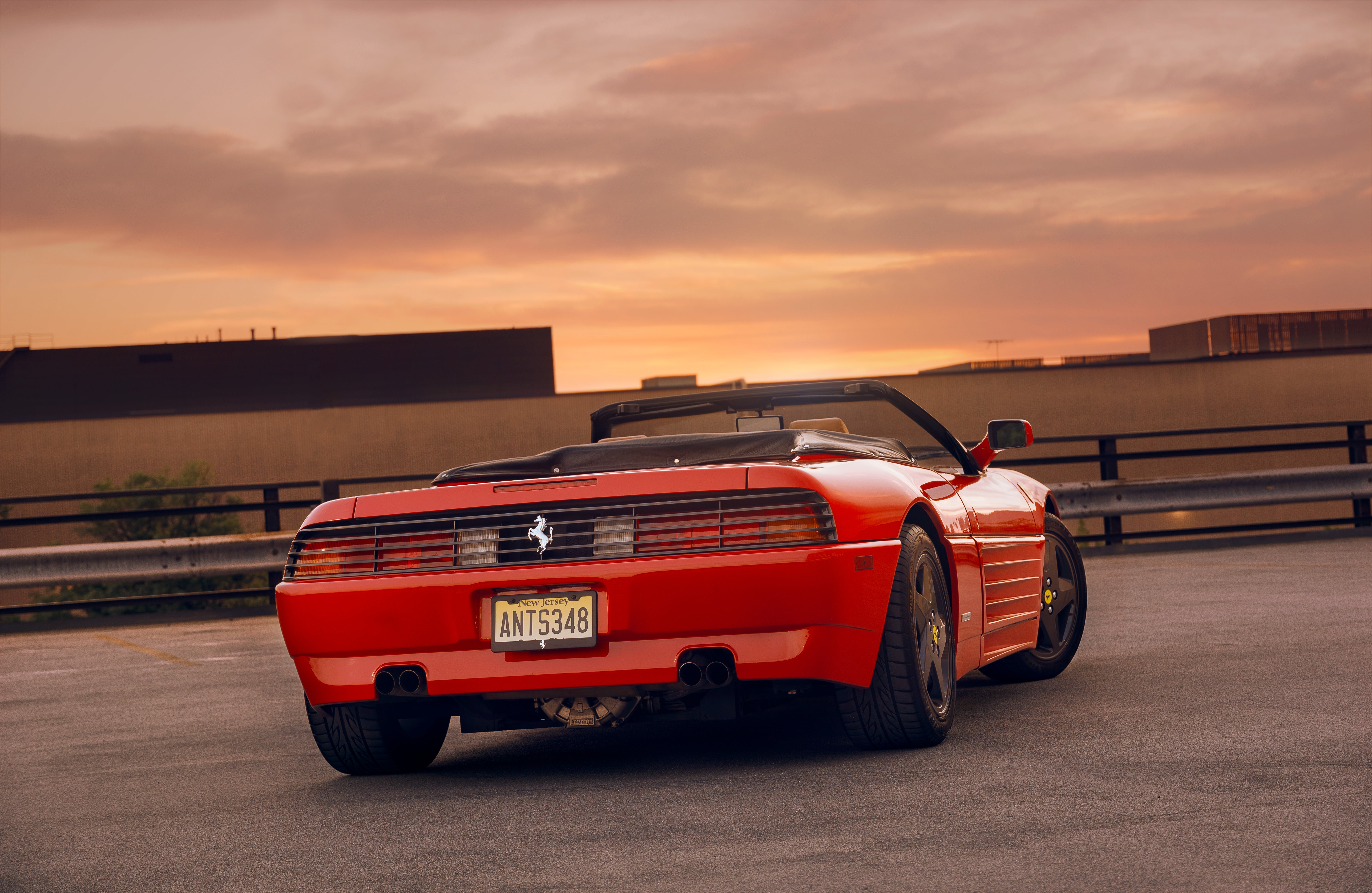 Your Ridiculously Awesome Ferrari 348 Spider Wallpaper Is Here