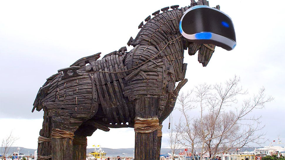PSVR trojan horse Who Cares About VR
