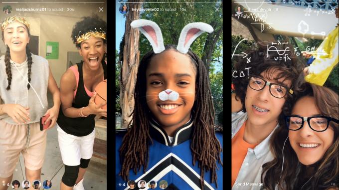 Instagram anuncia sus nuevos filtros faciales interactivos